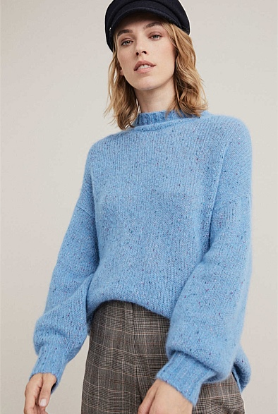 Full Sleeve Fleck Knit