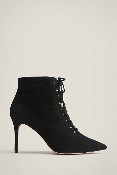Tabitha Suede Bootie