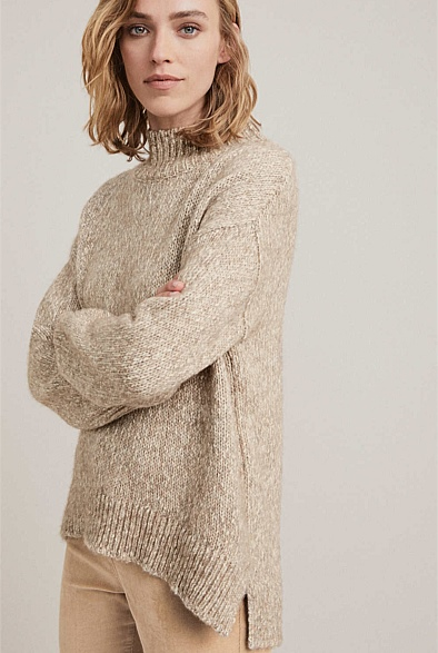 Multi Fleck Knit