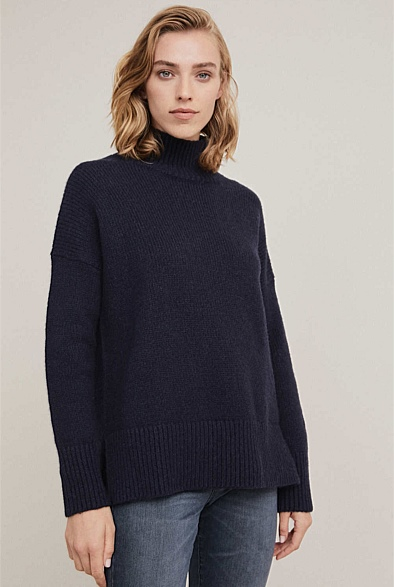 Hi Lo Slouch Knit