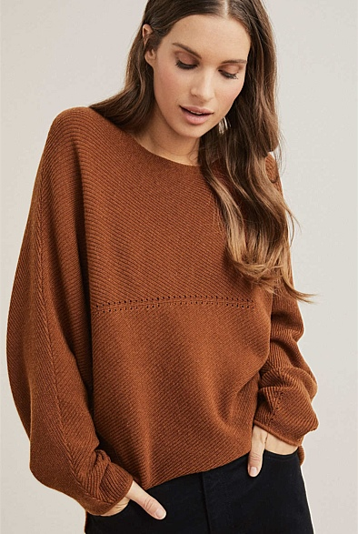 Dolman Stitch Knit