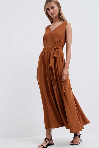 Tuck Front Dress