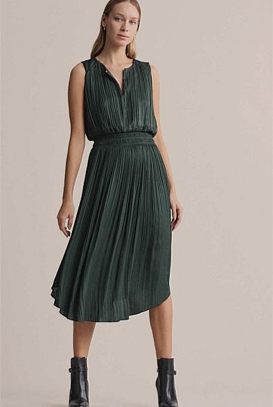 Fine Pleat Dress