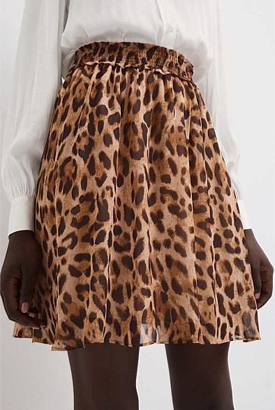 Flip Print Skirt