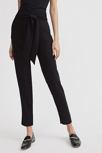 Belted Winter Pant