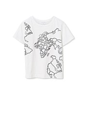 Map Placement T-shirt