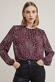 64eaefafe8859 Ditsy Print Blouse