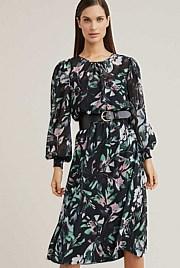 214eda523 Printed Midi Dress
