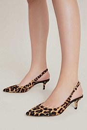 Adeline Textured Kitten Heel