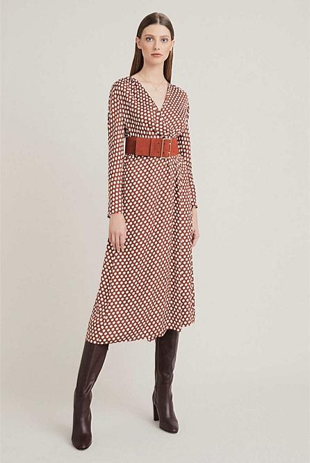 810938c2bc Spot Print Dress | Midi Dresses