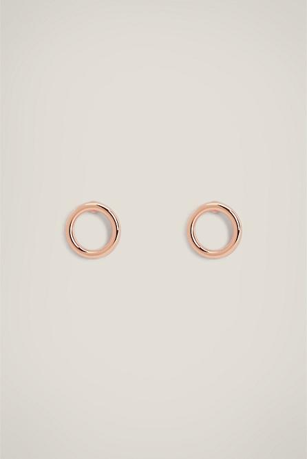 e362ab128 Circle Stud Earring | Earrings