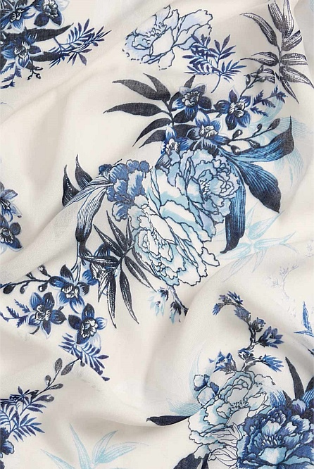 Oriental Floral Scarf by Witchery