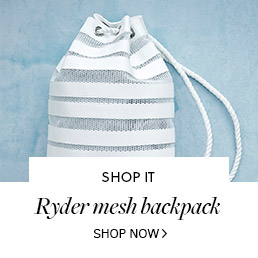 Ryder Mesh Backpack